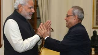 Pranab Mukherjee guided me like a guardian: Narendra Modi