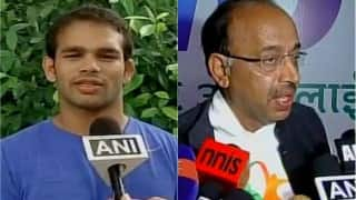 Rio Olympics 2016: Narsingh Yadav will be allowed to participate in Olympics if NADA gives him clean chit, says Vijay Goel