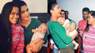 LOVELY! When Priyanka Chopra met Salman Khan's nephew Ahil Sharma (View pics)