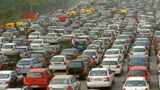 Increase in concentration of pollutants during odd-even scheme