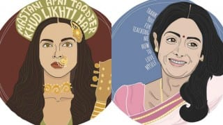 These impressive illustrations are bold & beautiful ode to popular female movie characters