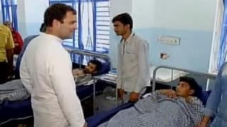 Rahul Gandhi meets Una incident victims in Gujarat, promises to ensure justice to Dalits