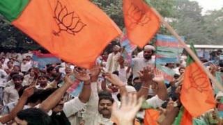 Uttar Pradesh: BJP protest for Naseemuddin Siddiqui's arrest, Dayashankar Singh's re-induction