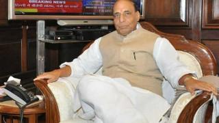 Rajnath Singh chairs high-level meeting in Kashmir