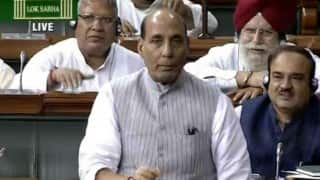 Rajnath Singh Pays Tribute On National Police Commemoration Day