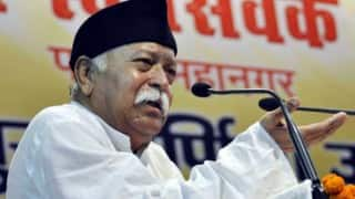 Mohan Bhagwat joins 2,200 people for 'MahaShibir' in UK