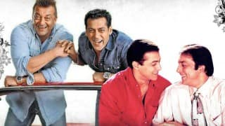 Sanjay Dutt met Salman Khan in Madrid; clears the air about his tiff with Sultan!