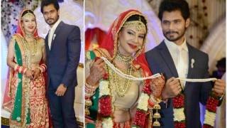 Sambhavna Seth and Avinash Dwivedi are now man and wife (View pics)