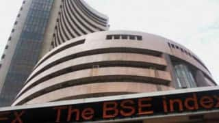 Sensex rallies 134 points ahead of macro data, Nifty hits 8,500