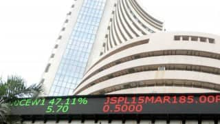 Sensex edges up as GST bill makes headway