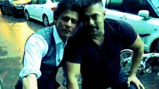 Karan-Arjun reunite: This picture of Salman Khan & Shah Rukh Khan cycling together will make your day!
