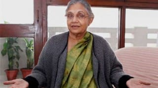 Congress announces Sheila Dikshit as chief ministerial candidate of Uttar Pradesh