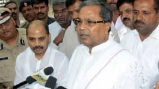 Karnataka CM Siddaramaiah flies to Brussels to meet ailing son