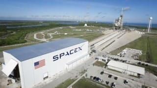 SpaceX launches space station docking port
