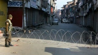 Curfew continues only in 3 south Kashmir districts