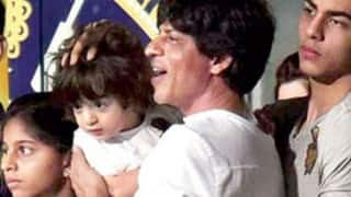 Aryan is dude, AbRam little gangster, Suhana pretty lady: SRK