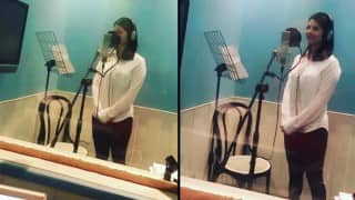 Sunny Leone makes singing debut; rehearses to croon LIVE at a BIG event!