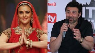 Bhaiyyaji Superhitt actress Preity Zinta's most favourite co-actor is Sunny Deol