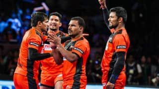 Pro Kabaddi Live Streaming Dabang Delhi vs U Mumba: Watch Live telecast of Dabang Delhi vs U Mumba, Match 56, on Star Sports at 9 pm