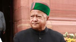 Himachal CM Virbhadra Singh bats for green bonus for hill states