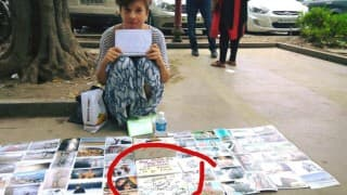 Robbed Russian girl who was forced to sell her photographs in the streets of Delhi, will now finally go home!