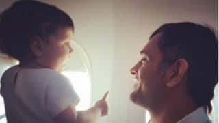This video of Ziva calling MS Dhoni 'Mahi' is super cute