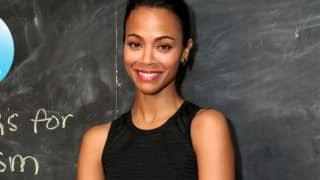 Zoe Saldana believes aliens do exist