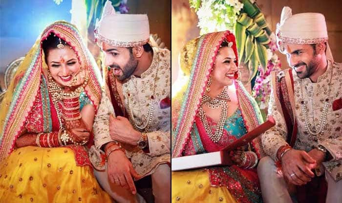 Divyanka Tripathi Mehndi Ceremony : A divyanka tripathi dahiya and vivek s wedding song is