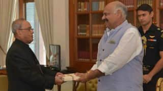 V P Singh Badnore sworn in as new Punjab Governor