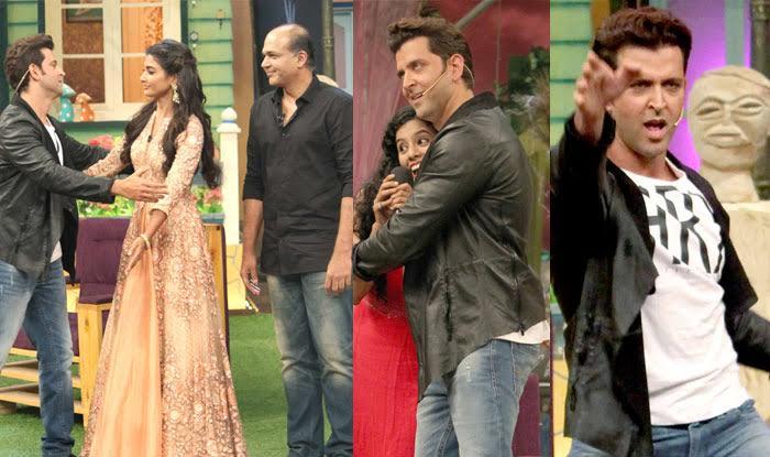 The Kapil Sharma Show: Here's how Mohenjo Daro hunk Hrithik Roshan LOLed on the popular comedy show!