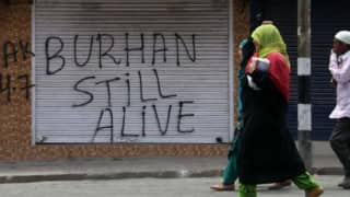 Burhan Wani's father leads protest in Kashmir, offers daughter to fight against Indian occupation