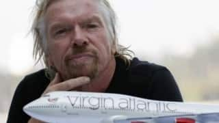 Richard Branson left fearing for his life after bike crash!