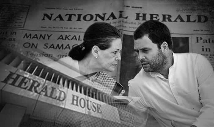 Image result for nehru on national herald
