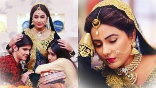 Oh No! Yeh Rishta Kya Kehlata Hai actress Hina Khan aka Akshara admitted in hospital