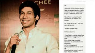 YouTuber Kanan Gill receives date request! This guy did the most tragically selfless thing to impress his girlfriend!
