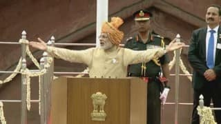 LIVE Telecast, Narendra Modi Independence Day speech 2016 from Red Fort: Watch LIVE Streaming of Prime Minister's address to nation