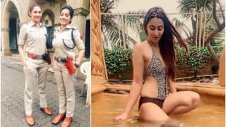 Diya Aur Baati Hum actress Rishina Kandhari sheds police uniform, looks super sexy in bikini!