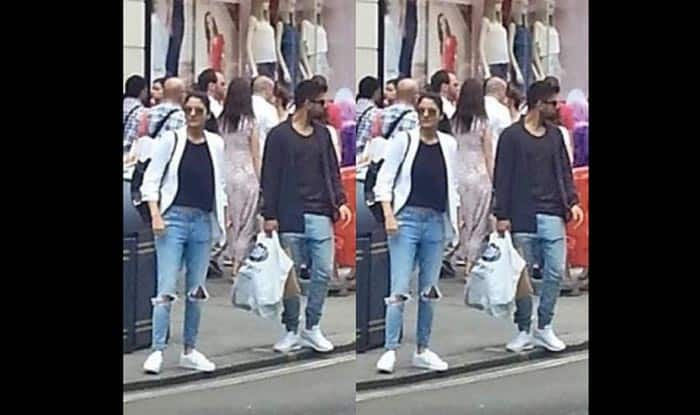Aww! Lovebirds Virat Kohli & Anushka Sharma spotted together in London