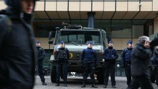 Terror probe opened over attack on Belgian police