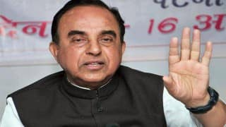 Subramanian Swamy bats for V K Singh, says corrupt forces are unhappy