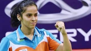 Rio Olympics 2016: Indian shuttler Saina Nehwal beats Brazil's Lohaynny Vicente to start campaign on a winning note