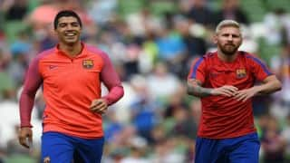 Barcelona angry over Lionel Messi, Luis Suarez being overlooked for UEFA award