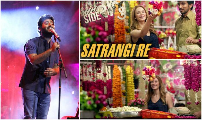 Arijit sang Satrangi Re from Wrong Side Raju (India)