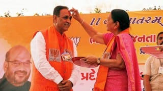 LIVE streaming of Vijay Rupani swearing-in ceremony: Watch BJP leader take oath as Chief Minister of Gujarat