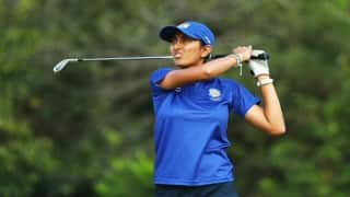 Golfer Aditi Ashok Waits For Another Day as First Round is Cancelled