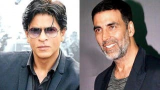 Akshay Kumar and Shah Rukh Khan are placed right alongside Tom Cruise and Johnny Depp in the Forbes list of World's 10 highest paid actors