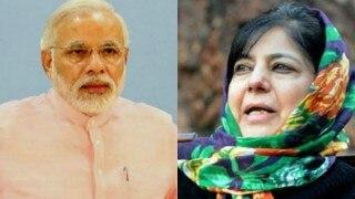 Mehbooba Mufti in Delhi, to meet Narendra Modi on Saturday