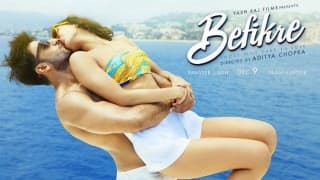 Befikre new poster: Another steamy kiss between Ranveer Singh and Vaani Kapoor! What's happening, Aditya Chopra?