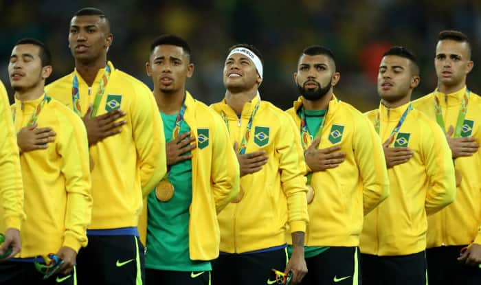 Αποτέλεσμα εικόνας για brazil 2016 football team