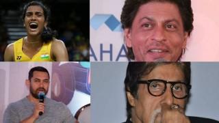 Rio Olympics 2016: Shah Rukh Khan, Amitabh Bachchan, Aamir Khan, Priyanka Chopra congratulate PV Sindhu
